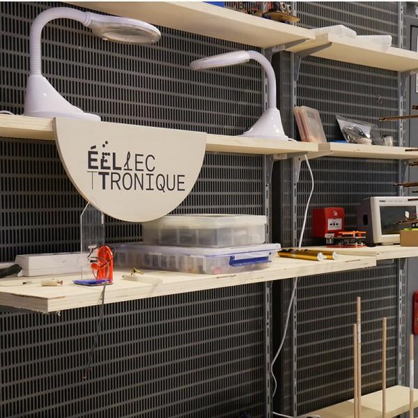Formation autonomie atelier d'électronique