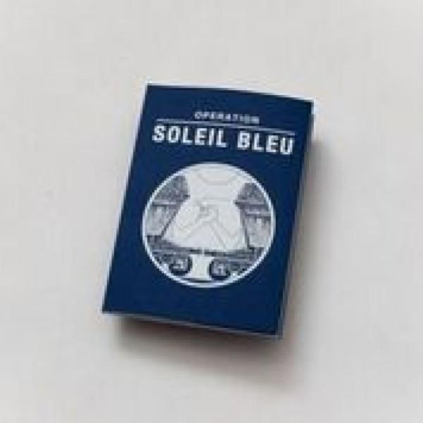"""Livre """"Opération Soleil Bleu"""""""