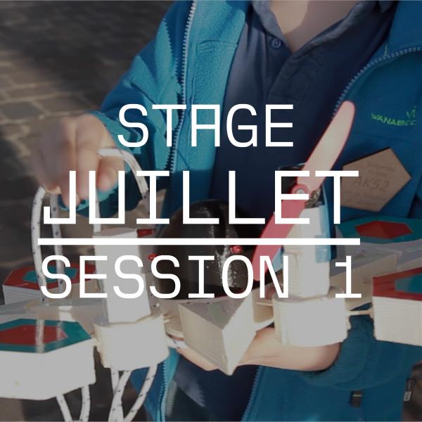 Stage de Juillet - du Lundi 24/07 au vendredi 28/07 - Viens fabriquer ton Objet Flottant Non Identifié !