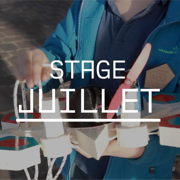 Stage de Juillet - du Lundi 03/07 au vendredi 07/07 - Construis ton OFNI programmé !