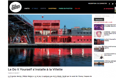 Le Do It Yourself s'installe à la Villette