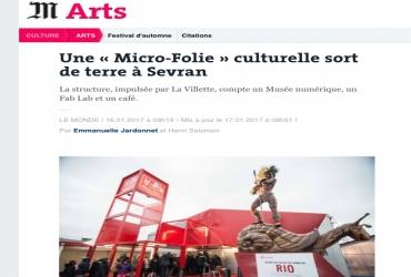 Une « Micro-Folie » culturelle sort de terre à Sevran