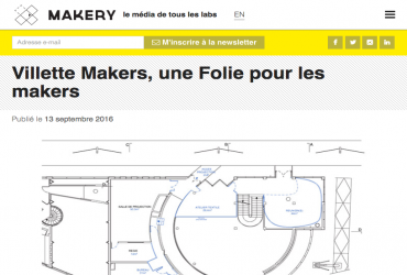 Villette Makers, une Folie pour les makers